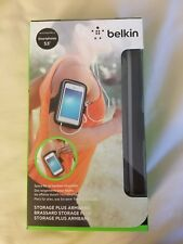 Belkin Storage Plus Armband Case for 5.5'' Smartphones Black F8W671BTC00