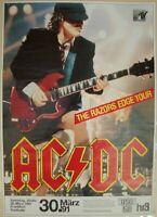 AC/DC - RAZORS EDGE TOUR - FRANKFURT FESTHALLE 1991 - KONZERTPOSTER