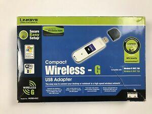 Linksys Compact Wireless - G USB Adapter Model WUSB54GC