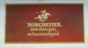 Hard to Find Vintage Winchester Rubber Counter Bar Display Mat