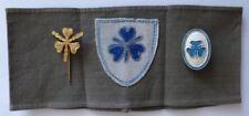 Bismarckbund/Jugend der DNVP 1922-1933 Armbinde + Abzeichen