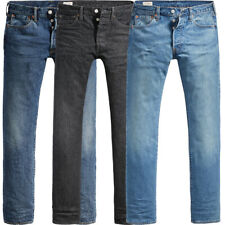 Levi's ® 501 ® original fit Jeans-caballeros Jeans Hose azul corte normal
