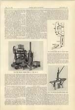 1921 Whittaker Brickmaking Machine Whalley Concrete Mixer West