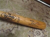 1983-84 Ray Knight Game Used Autographed Louisville Slugger Baseball Bat