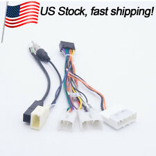 Toyota Car Radio DVD Player Power Harness Wiring USB Wire for Aftermarket Stereo