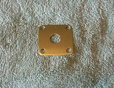 gibson/ les paul- JACKPLATE  - solid brass - custom made reproduction