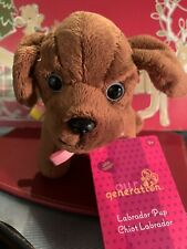 """Our Generation by Battat Labrador Pup Plush Puppy with Leash for 18"""" Dolls"""
