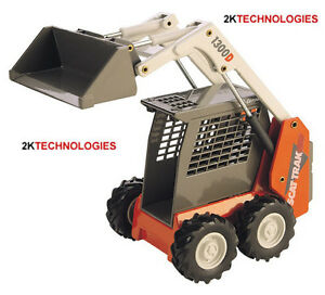 JOAL 150 - Scattrak 1300D Skid Loader 1/32 Scale - New Boxed - Tracked 48 Post