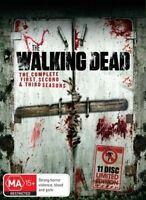 The Walking Dead Season 1-3 (11 DISC LIMITED EDITION) BOX-SET, Region: 4