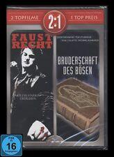 DVD FAUSTRECHT - EVIL & BRUDERSCHAFT DES BÖSEN - 2 DISC SET *** NEU ***