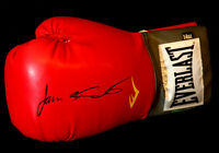 New James Toney And Roy Jones Jr Duel Signed 16oz Red Everlast Boxing Glove
