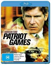 Patriot Games (Blu-ray, 2011)