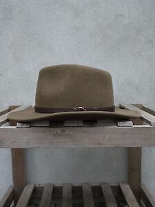 Outback tawny brown Flexfelt/Soffelt Bush Hat Olney Headwear 100% wool S/M/L/XL