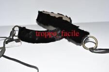 CINTA donna GREY MER made in italy VISONE nero 85 cm