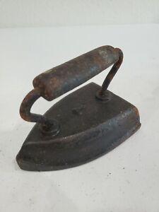 Antique 7 lb. Cast Iron Clothes Iron