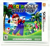Mario Golf: World Tour - Nintendo 3DS - Brand New | Factory Sealed