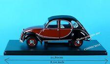 Voiture CITROEN 2CV 6 CHARLESTON 1982 NEUVE 16cm de long auto cv échelle 1/24ème