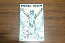 PHYSIQUE PICTORIAL VOL 10 #2 50s VINTAGE MAGAZINE BOYS ART BEEFCAKE GAY NUDE