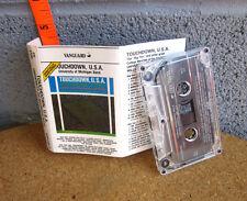 UNIVERSITY MARCHING BANDS cassette-tape Touchdown USA 1987 Michigan Ohio Indiana