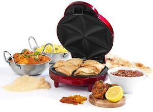 Giles & Posner 1000W Samosa Maker With Non-Stick Coated Cooking Plates EK3812G