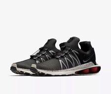 NEW  NIKE AIR SHOX GRAVITY BLACK RED SAIL RUNNING WALKING SHOE'S MEN'S 10  $150