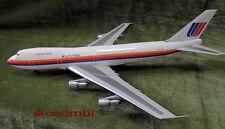Inflight 200 United Airlines UA B747-100 Saul Bass 1:200