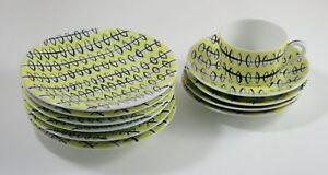 1950s Fine China Set by La Maitrise of Galeries Lafayette - France Ceramique