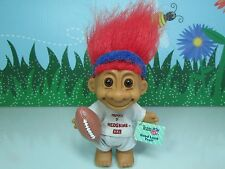 "Washington Redskins Good Luck Sports Troll Doll - 5"" Russ Troll Doll-New w/Flaws"