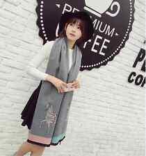 Women's Soft Pashmina Cashmere Scarves Long Stole Shawl Wrap Scarf 70*180CM W203