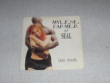 MYLENE FARMER SEAL CDS EU LES MOTS