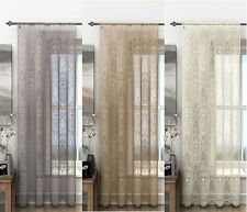 HOLLY SLOT TOP LACE PANEL (1),CURTAIN PANEL,LACE DRAPES,GREAT VALUE FOR MONEY