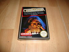 THE CHESSMASTER FOR NINTENDO NES PAL B EUROPEAN VERSION NEW FACTORY SEALED