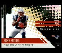 2018 Panini Unparalleled #218 Sony Michel RC New England Patriots