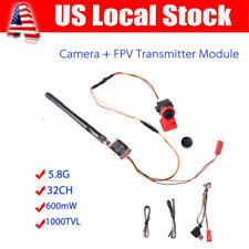 TS5828 32CH 600mW 5.8Ghz Transmitter +1000TVL Mini FPV Camera SMA For Quadcopter
