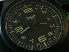 Gent's Swiss TRASER H3 P59 Essential Quartz Wrist Watch M Black with Extra Strap