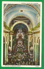 VINTAGE C. JORDI POSTCARD - CUBA HAVANA - LA MERCED CHURCH VIEW OF ALTER 2019