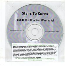 (EV40) Stairs To Korea, Paul Is This How You Wanted It? - 2010 DJ CD