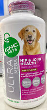 New listing Gnc Ultra Mega Hip & Joint Health Chewable tablets Adult