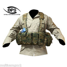 O.P.S/UR-TACTICAL Enhanced Combat Chest Rig in USMC WOODLAND MARPAT