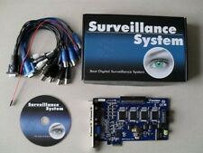 GV800V4 DVR CCTV camera capture card pci express 16ch can stack 2 for 32ch.