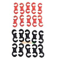 10pcs Cycle Bike Bicycle MTB Brake Gear Cable S Style Clips House Hose Guide
