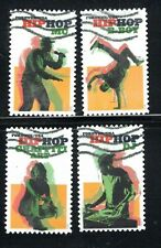 2020 Sc #5480-83 Forever Hip Hop 4  stamps Canceled