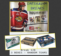 ✨✨Datsyukian HOCKEY BREAK 128 -  3 BOXES - RANDOM TEAMS - UPPER DECK (10 Left)✨✨