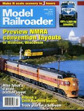 Model Railroader Magazine April 1997 Preview NMRA convention layouts