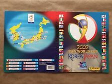 Korea Japón 2002 World Cup WM WC 02 Panini Sticker  Álbum Completo