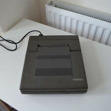 Computadora Laptop Toshiba T3100e Retro de trabajo condición 1986
