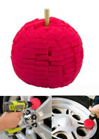 "3"" Super Soft Drill Power Ball Polisher Buffing Alloy Wheel Cleaning Detailing"