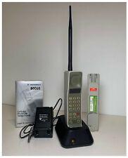 Motorola DynaTAC 8000S Vintage Mobile Phone w/ 2 Batteries Charger Manual Case