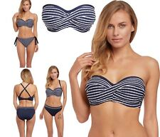 Fantasie Bikini Top San Remo UW Twist Bandeau Multiway 6504 Ink Womens Various