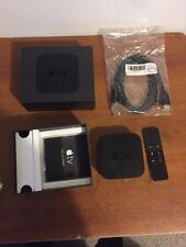 Apple TV 4th Generation 64GB Digital HD Media Streamer Great Bundle #2218
